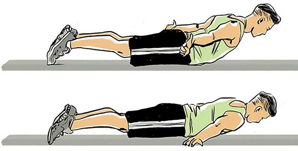 Cobra Lift- حرکات ورزشی- برنافیت