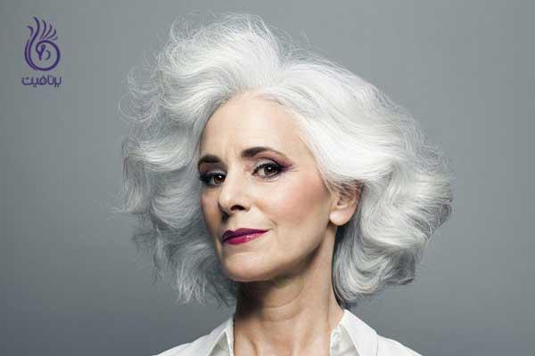 سفید شدن موها- علائم دیابت