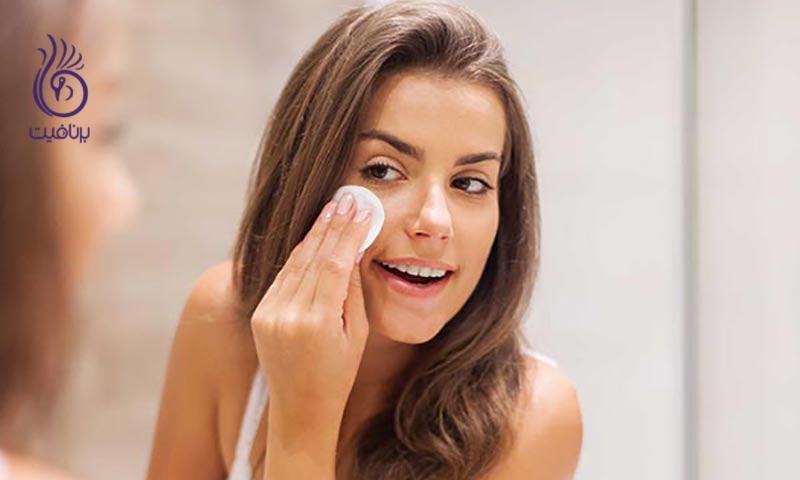 راهکارهایی برای افزایش دوام آرایش صورت در طول روز