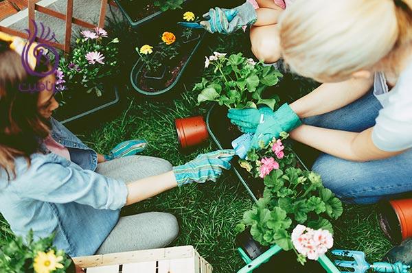 10 فعالیت برای ترکیب کارهای روزانه با فعالیت های ورزشی ، باغبانی