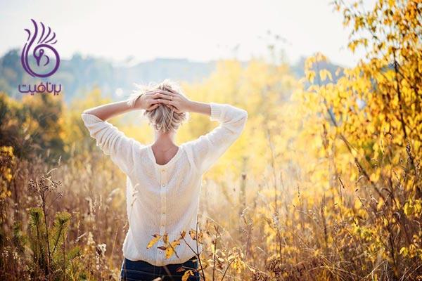 کاهش استرس بر پایه ی حضور ذهن