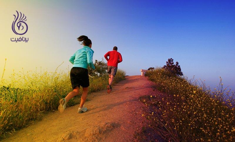 دویدن روی تپه شما را قوی تر می کند