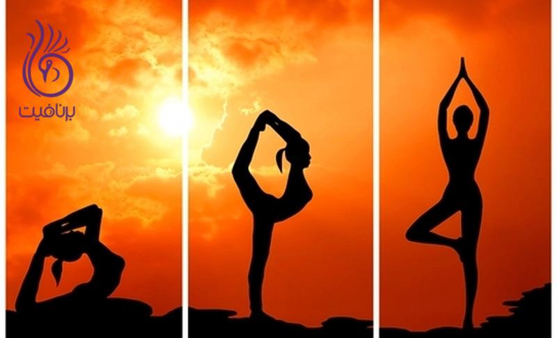 ده دقیقه تمرین پایه ای یوگا