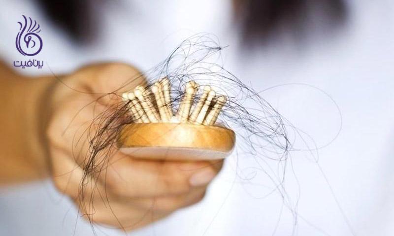 مواد غذایی که از ریزش مو جلوگیری می کنند ، برنافیت