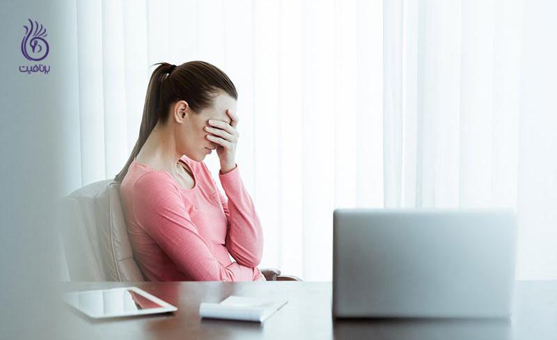 نشانه های هشدار دهنده ی استرس شغلی
