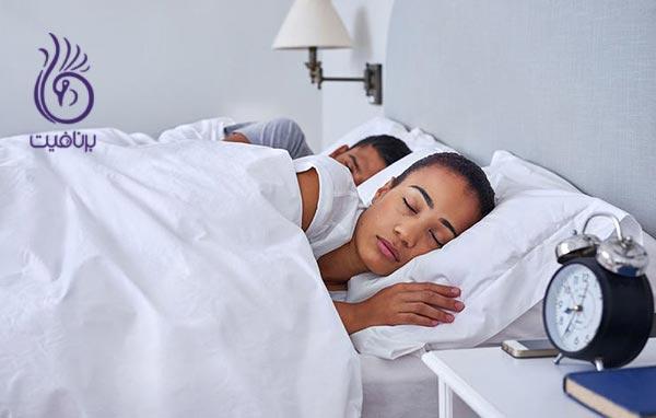 کارهایی که قبل از خواب موجب آرامش می شوند ، برنافیت