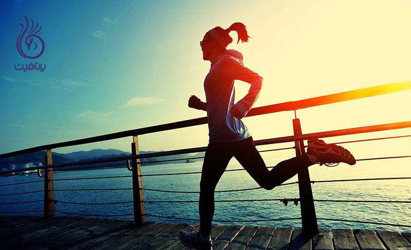 چگونه بعد از دویدن کالری بیشتری بسوزانیم؟ ، برنافیت