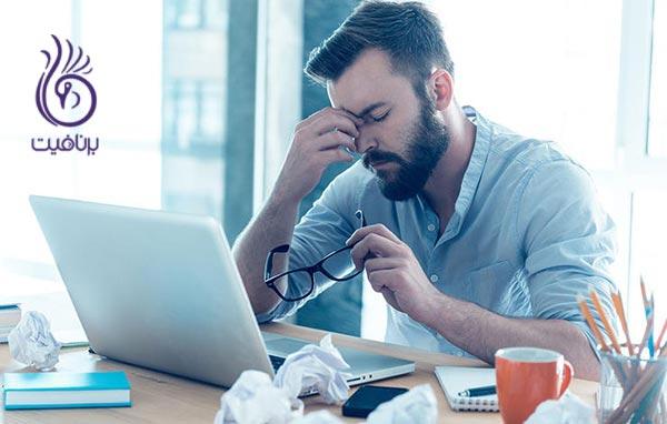 شایع ترین دلایل استرس کدامند؟ ، برنافیت