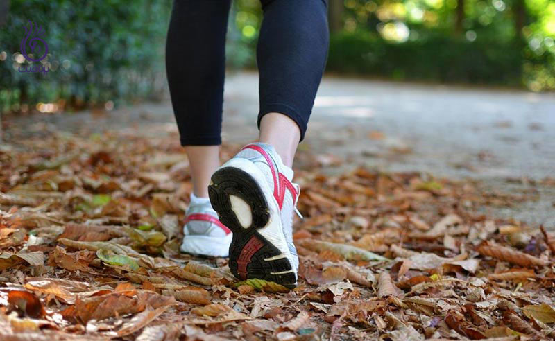 کالری سوزی با 10 دقیقه پیاده روی