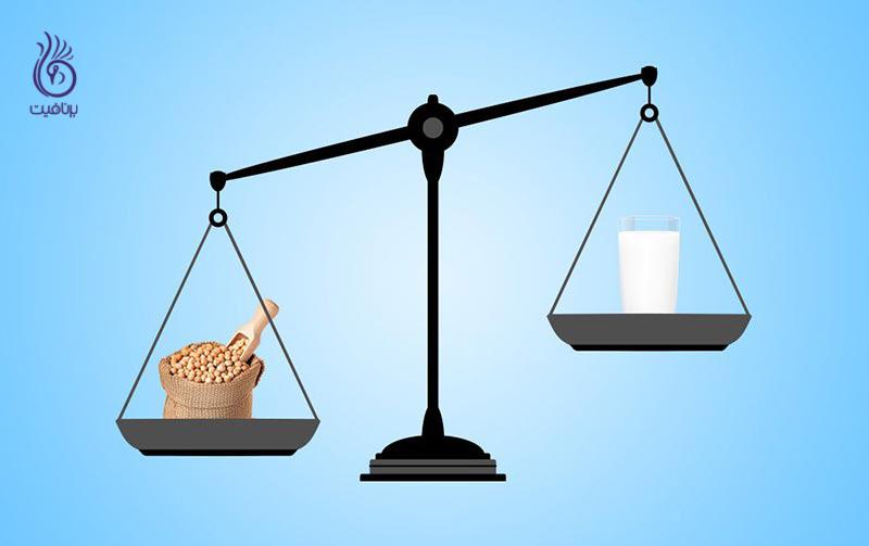 مواد غذایی که کلسیم آنها بیشتر از یک لیوان شیر است