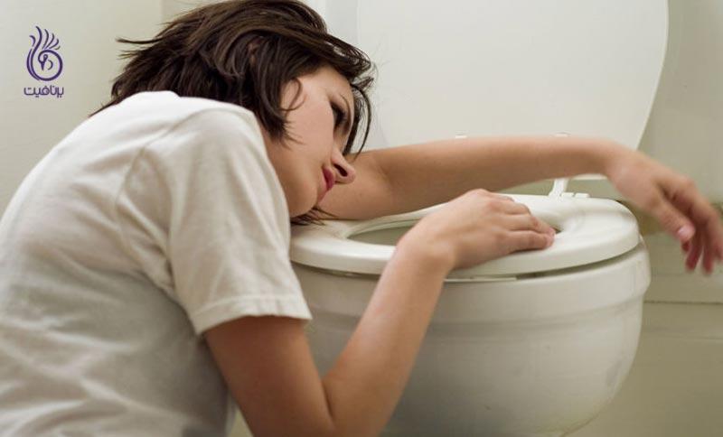 مسمومیت غذایی یا آنفولانزای معده ؟