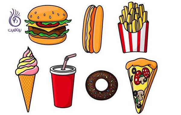 غذاهایی که باعث اسهال می شود