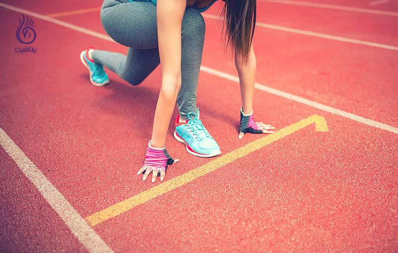 با سریع تر دویدن وزن بیشتری کم کنید ، برنافیت