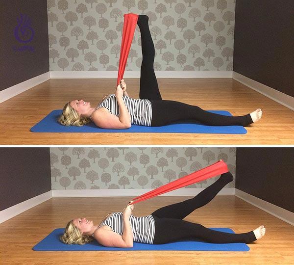 روش های عضلانی کردن پا به وسیله ی کش مقاومتی