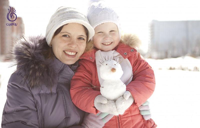 6 ترفند شگفت انگیز برای محافظت از پوست در زمستان ، برنافیت