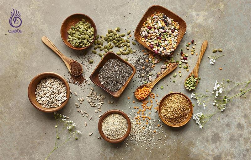 دانه های سالمی که هر روز باید مصرف کنید