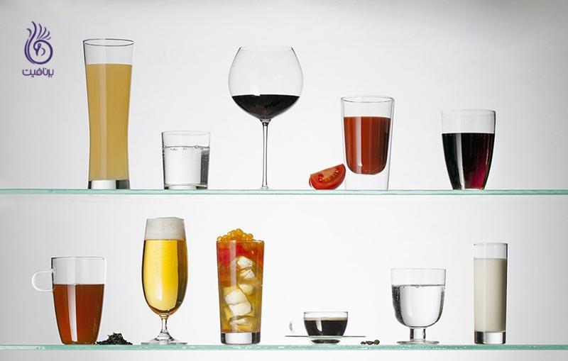 نوشیدنی هایی که باعث کاهش وزن می شوند-تغذیه-برنافیت