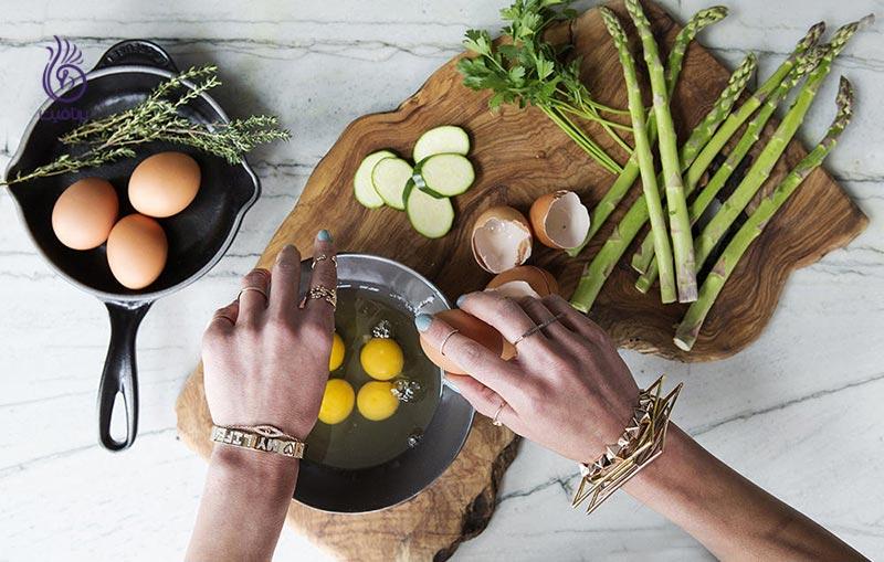 غذاهایی که رطوبت پوست را تامین می کند