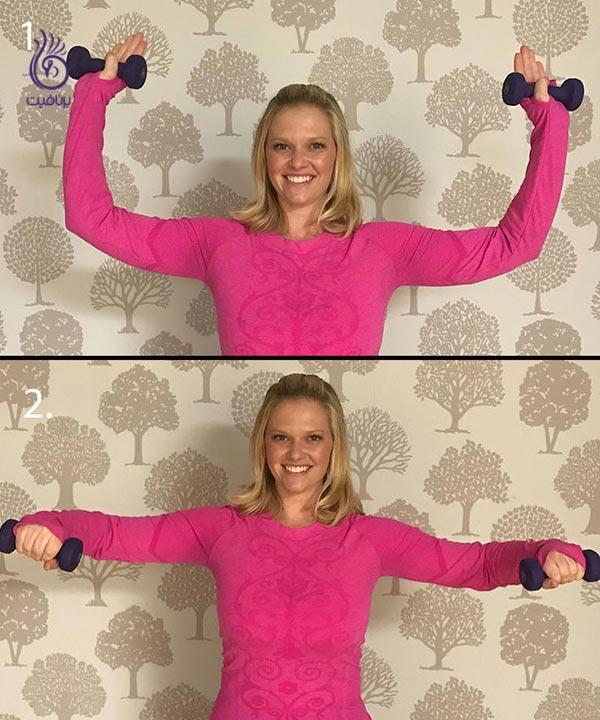 مناسب ترین حرکات دمبل برای داشتن شانه های قوی