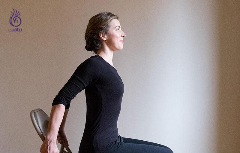5 کشش گردن مفید در حالت نشسته