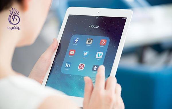 عادات روزمره نگرانی بیشتر - زندگی سالم - شبکه اجتماعی - برنافیت