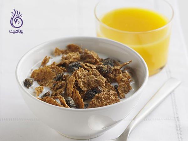 غذاهایی برای پیشگیری از کمبود آهن - نان و غلات - برنافیت