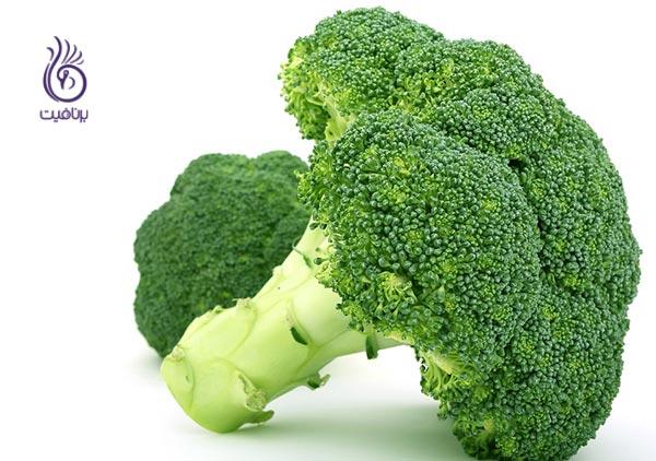 غذاهایی برای پیشگیری از کمبود آهن - بروکلی - برنافیت