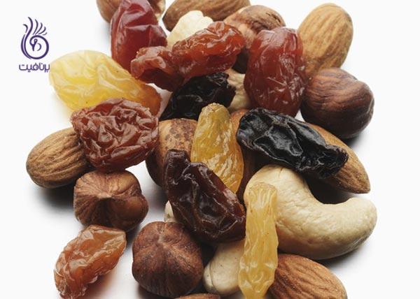 غذاهایی برای پیشگیری از کمبود آهن - آجیل - برنافیت
