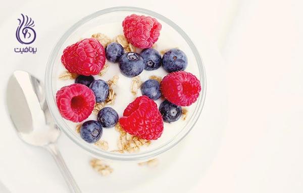 مواد غذایی کم چرب - رژیم - برنافیت