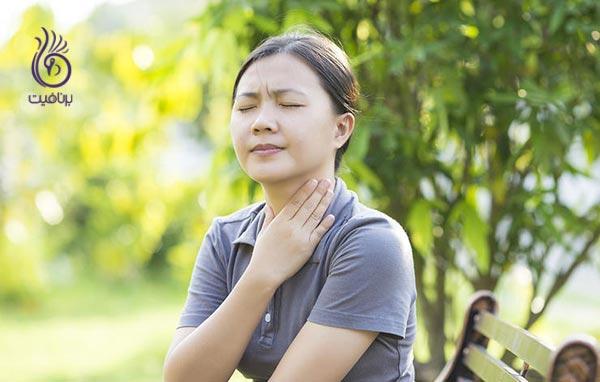 سرطان تیروئید چه علائمی دارد؟ - گلودرد - برنافیت