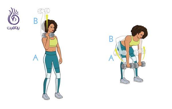 برای سوزاندن چربی ها، این تمرین های قدرتی را انجام دهید - ورزش - برنافیت