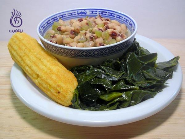 غذاهایی برای پیشگیری از کمبود آهن - سبزیجات - برنافیت