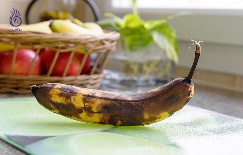 استفاده از میوه های در حال خراب شدن - موز - برنافیت