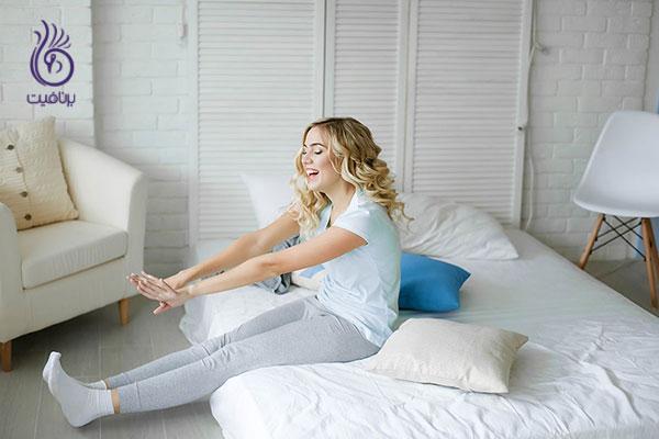 11 روش تقویت بدن بدون نیاز به ورزش - خواب