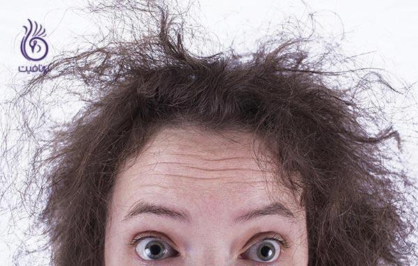 شستن روزانه ی موها - خشکی مو - برنافیت