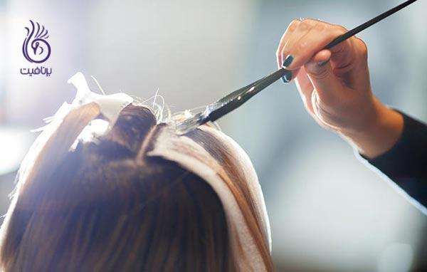 شستن روزانه ی موها - رنگ مو - برنافیت