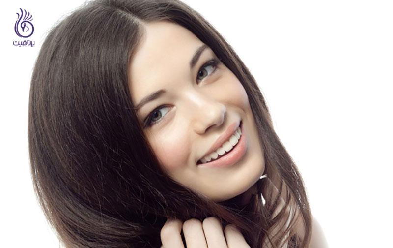 غذاها افزایش سلامت موها - زیبایی - برنافیت