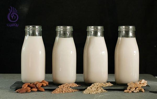 8 اشتباه غذایی - شیر - برنافیت
