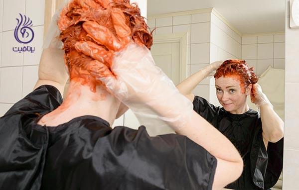 سلامت موی شما - رنگ مو - برنافیت