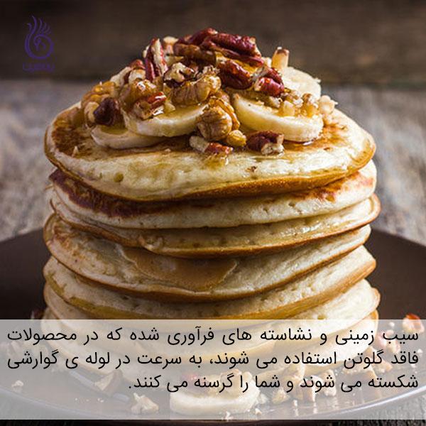 با خوردن وعده ی صبحانه گرسنه هستید - پنکیک - برنافیت