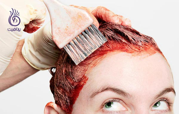 سلامت موی شما - رنگ مو قرمز - برنافیت