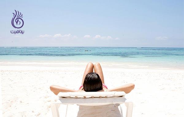 سرطان پوست - ساحل - برنافیت