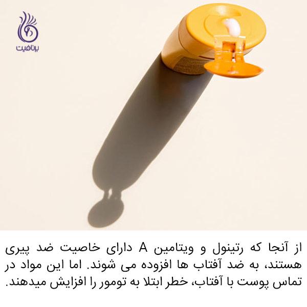 ضد آفتاب هایی که نباید به هیچ وجه از آنها استفاده کنید - برنافیت