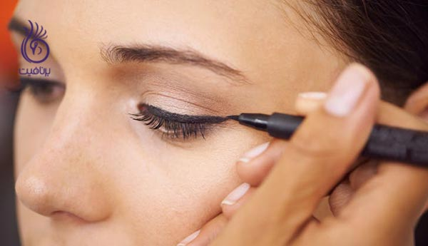 ترفندهایی برای کشیدن خط چشم بدون نقص - برنافیت