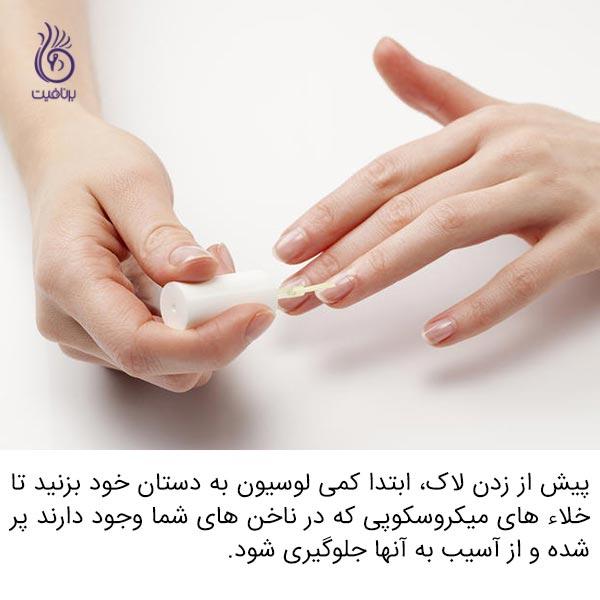 علت شکستن ناخن هایم چیست؟ - لاک - برنافیت