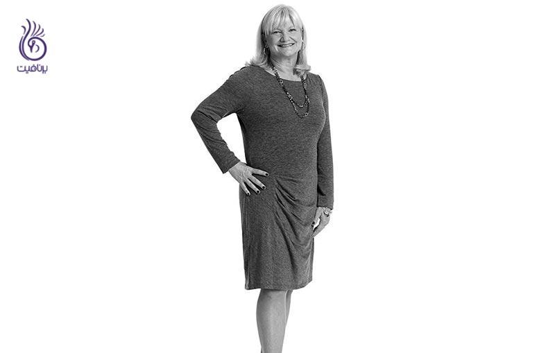 زنی که تنها با پیاده روی توانست 9 کیلوگرم وزن کم کند! - برنافیت