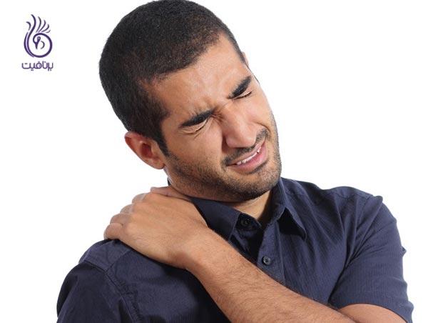 دلایل شکم درد - درد ماهیچه - برنافیت