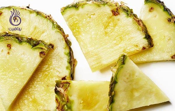 ماسک هایی که پوست شما را جوان تر می کنند - آناناس- برنافیت