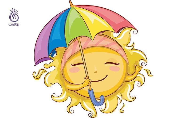 کارهایی که آفتاب سوختگی شما را بدتر می کند - برنافیت