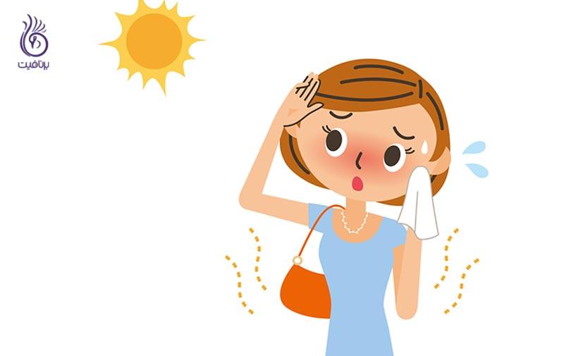 بهترین درمان های خانگی آفتاب سوختگی - برنافیت